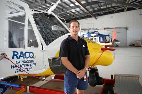 RACQ Capricorn Helicopter Rescue, Joe Chandler.