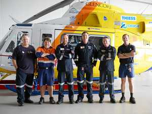 The behind the scenes story of CQ's air rescue heroes
