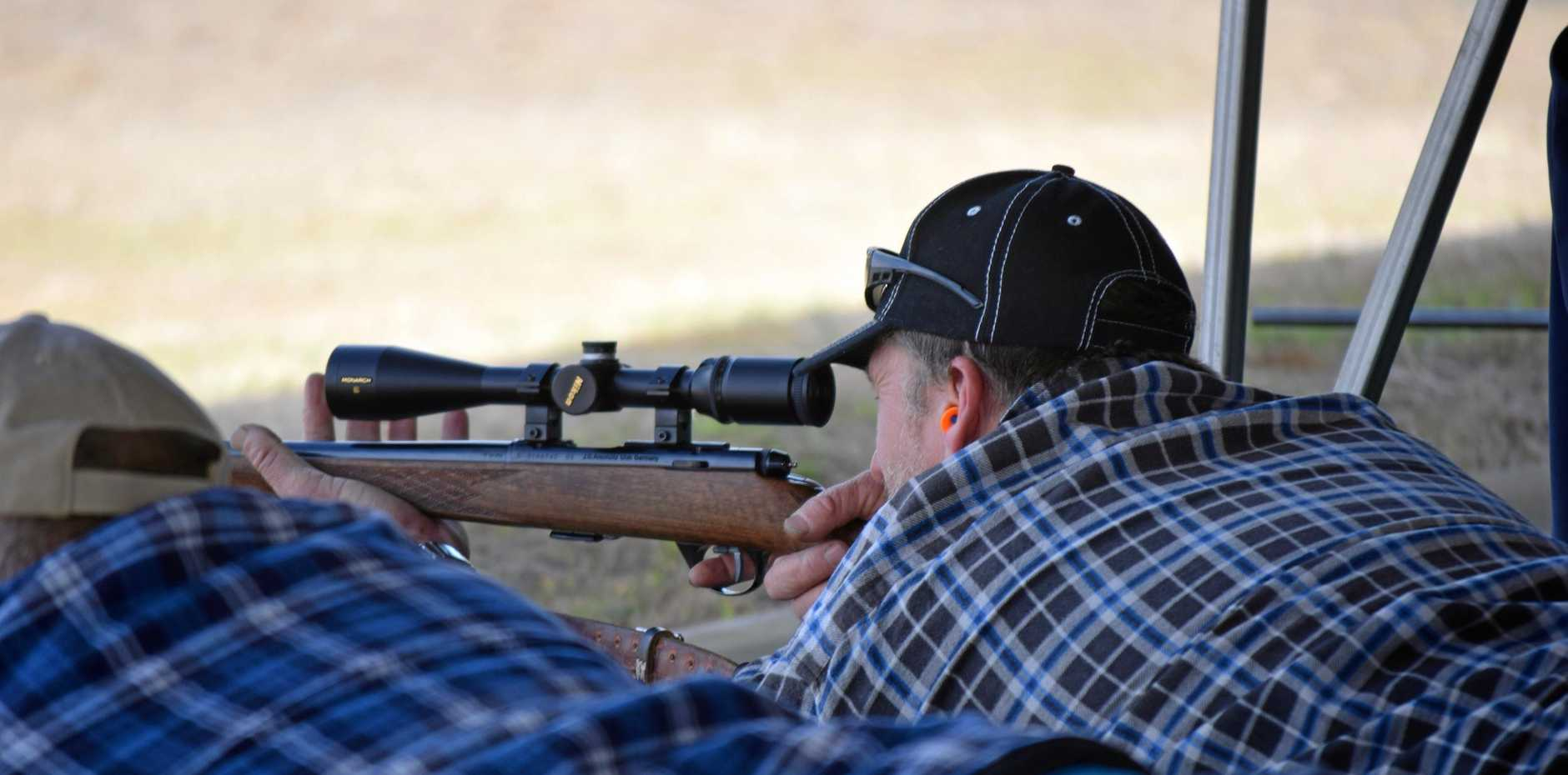 Mackay and District Target Rifle Association will be able to return to shooting at the Mount Vince Rifle Range.