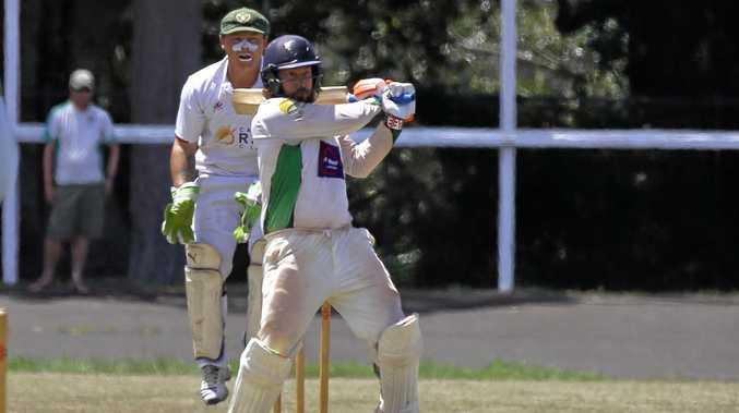 Lennox Head captain Andrew Lindsay scored a half century against the Casino Cavaliers in Far North Coast LJ Hooker League cricket on Saturday.