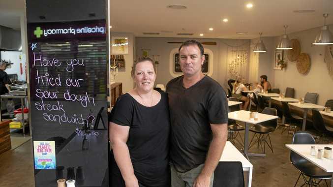Liz and Ben Sumber of Dunes Cafe