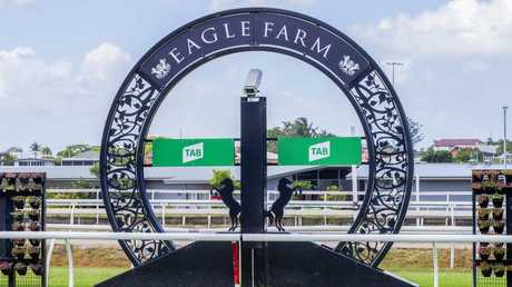 Eagle Farm has had a positive return to racing. (AAP Image/Richard Walker)