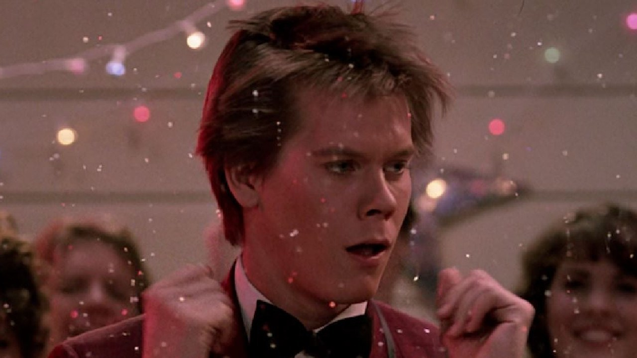 Kevin Bacon in Footloose.