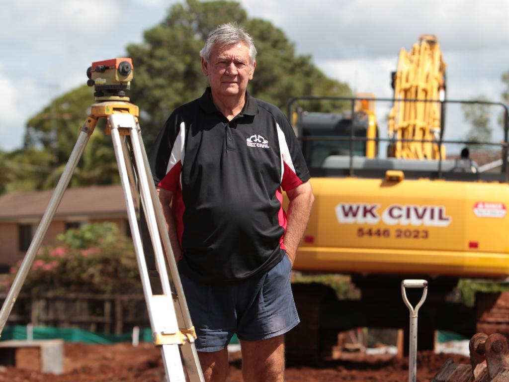 Subcontractors' Alliance head Les Williams. Picture: Brett Wortman / Sunshine Coast Daily