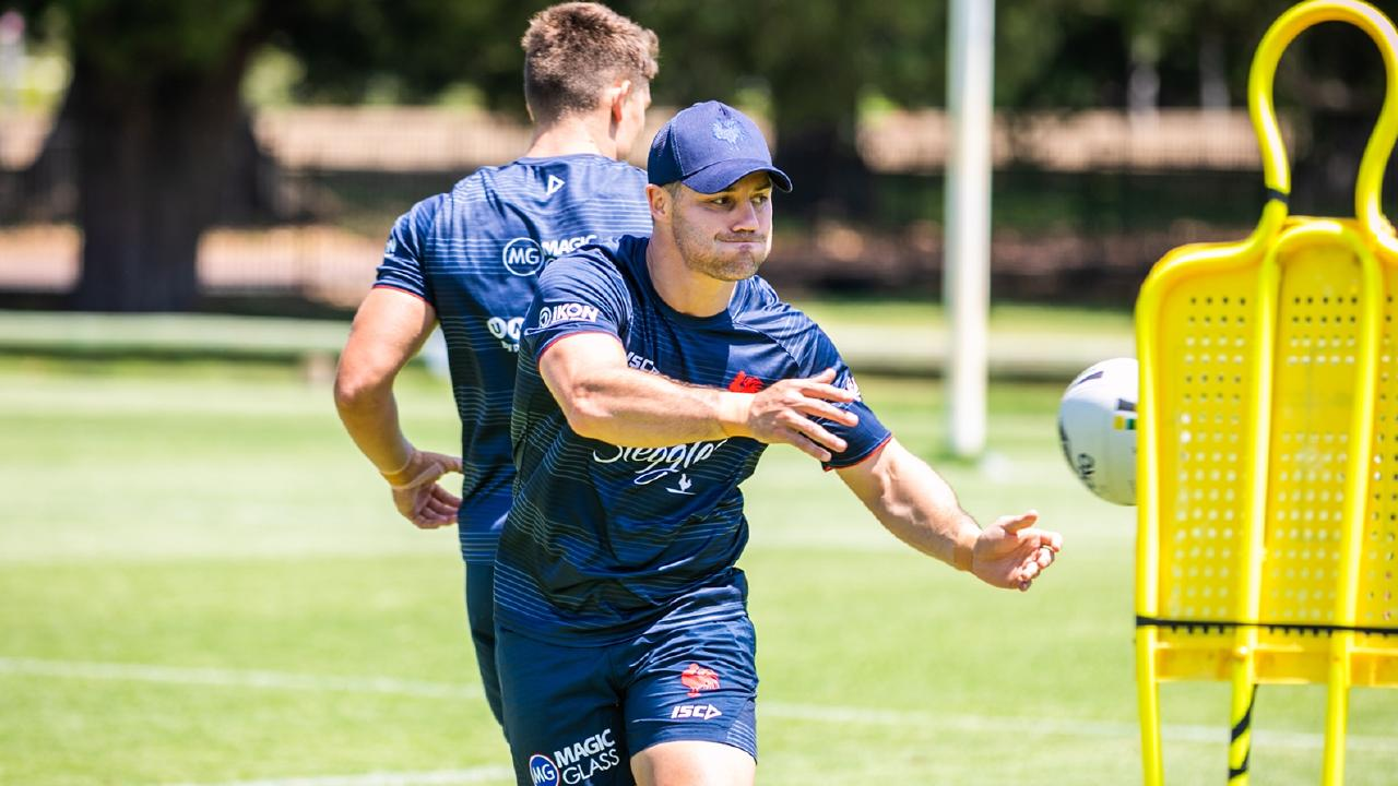 Cooper Cronk is set to line up for the Roosters in the World Club Challenge. Picture: Sydney Roosters