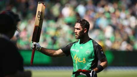 Glenn Maxwell was the star of the show with the bat, ball and in the field.. Picture: Getty