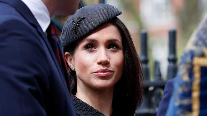 Meghan Markle wrote to her dad. Picture: Adrian Dennis