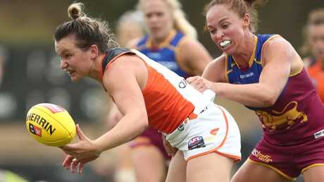 Alyce Parker has already made her mark for the Giants. Picture: Getty
