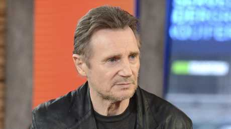 Liam Neeson on Good Morning America explains comments he made that caused outrage. Picture: Lorenzo Bevilaqua