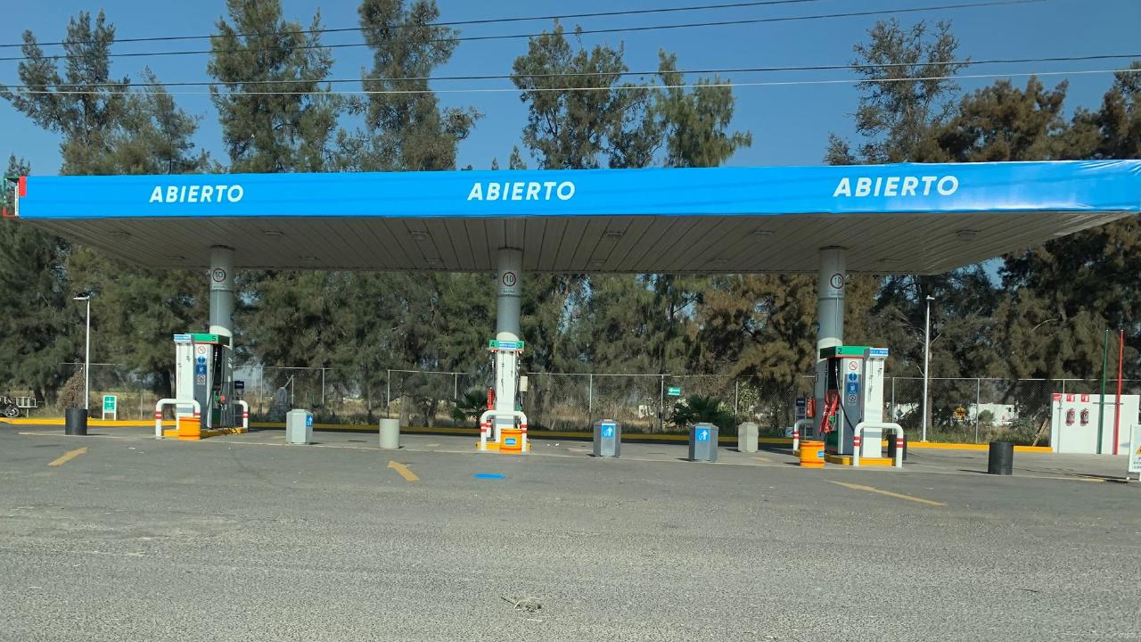 Many fuel stations sat empty across Mexico.