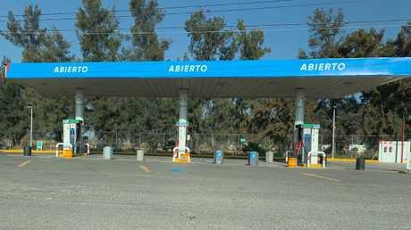 Many fuel stations sat empty across Mexico.