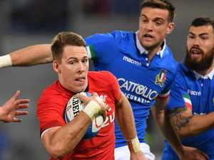 Wales equals wins record after Italy scare in Rome