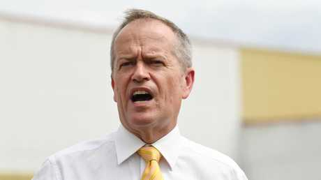 Bill Shorten is caught between a rock and a hard place on refugee matters. Picture: AAP