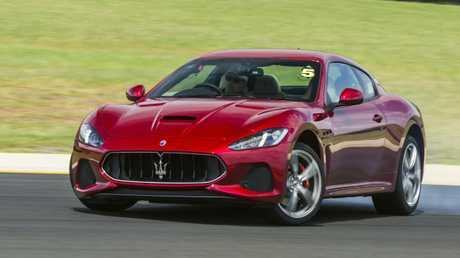 Maserati Gran Turismo is built to go fast.