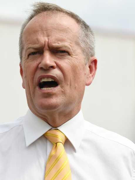 Leader of the Opposition Bill Shorten. Picture: AAP/Dean Lewins