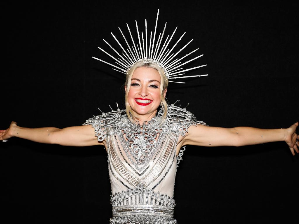 Kate Miller-Heidke after winning the 2019 Eurovision - Australia Decides final at the Gold Coast Convention and Exhibition Centre. Picture: AAP