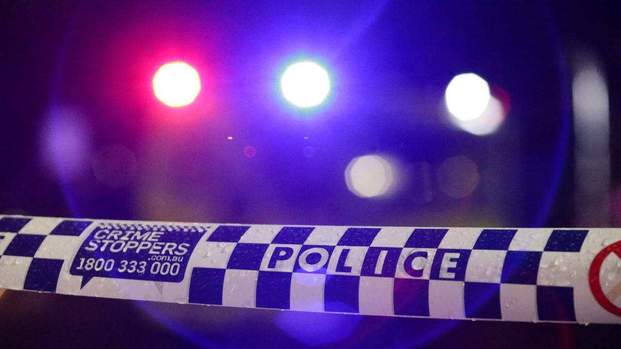 A-three-year-old child was a passenger in a stolen car that crashed into a police vehicle when the driver tried to escape officers in Adelaide's northwest.