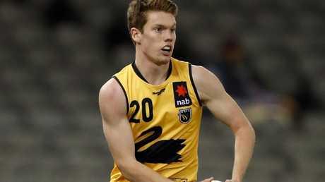 Can Luke Foley break into West Coast's best 22? Picture: AFL Media