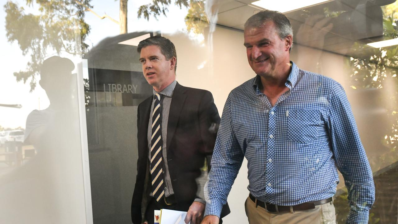 Disgraced trainer Darren Weir may have a number of his records taken away. (Photo by Vince Caligiuri/Getty Images)
