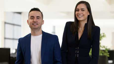 The 29-year-old co-owns the multimillion-dollar business with her partner Costa Koulis.