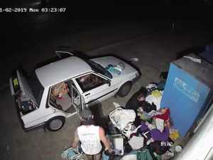 Lifeline bins raided