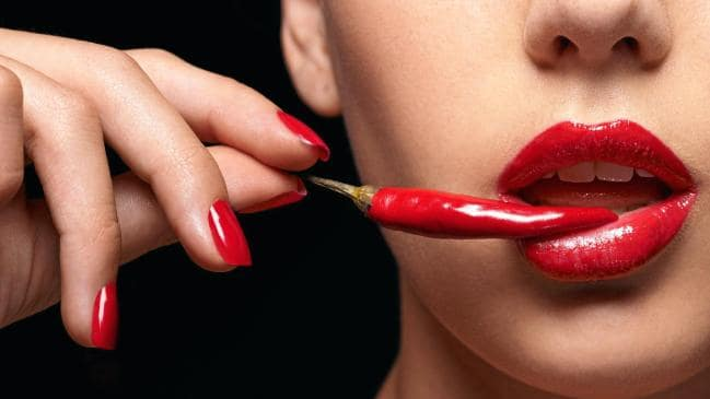 Chillies are rumoured to have a powerful aphrodisiac effect.