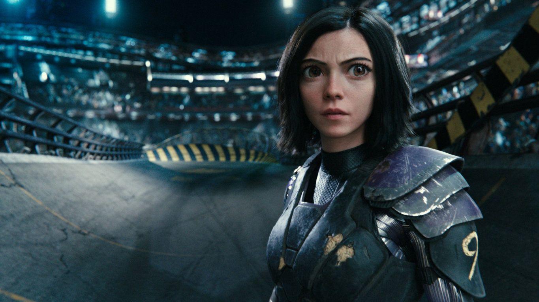 Rosa Salazar stars in the movie Alita: Battle Angel.