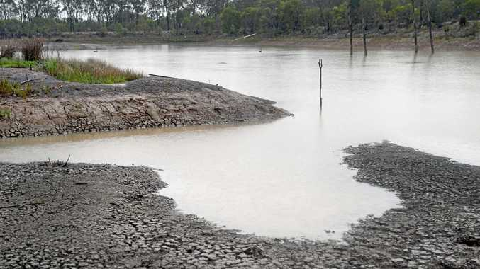 MUDDY: A 25 per cent rebate for de-silting dams has been flagged by the Department of Agriculture and Fisheries.