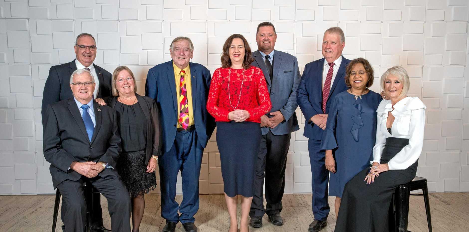 2018 Queensland Greats Awards at Queensland Art Gallery.