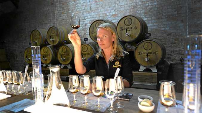 EXPERT TASTE: Sarah Watson is the woman behind the world's best rum.