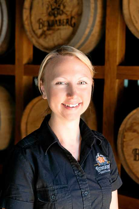 FACE BEHIND BUNDABERG RUM'S BLEND: Sarah Watson is the Blending and Innovation Manager at Bundaberg Rum and has been responsible for crafting rums that have been recognised at the highest level at the World Rum Awards including World's Best Gold Rum (2016), World's Best Dark Rum (2016/ 2017) and World's Best Rum (2016).