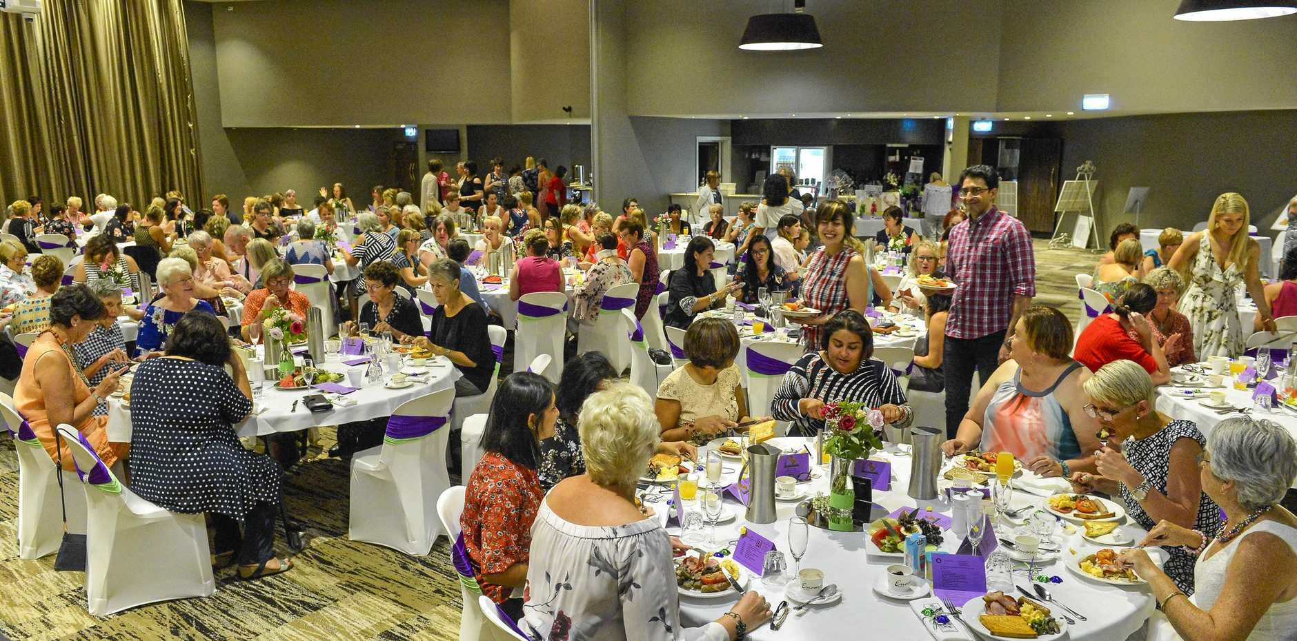 The Zonta Club of Gladstone's International Women's Day Breakfast will be held on March 10 at the Yaralla Sports Club.