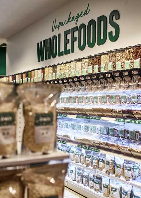 Flannerys Organic and Wholefoods Market stocks a variety of healthy options.