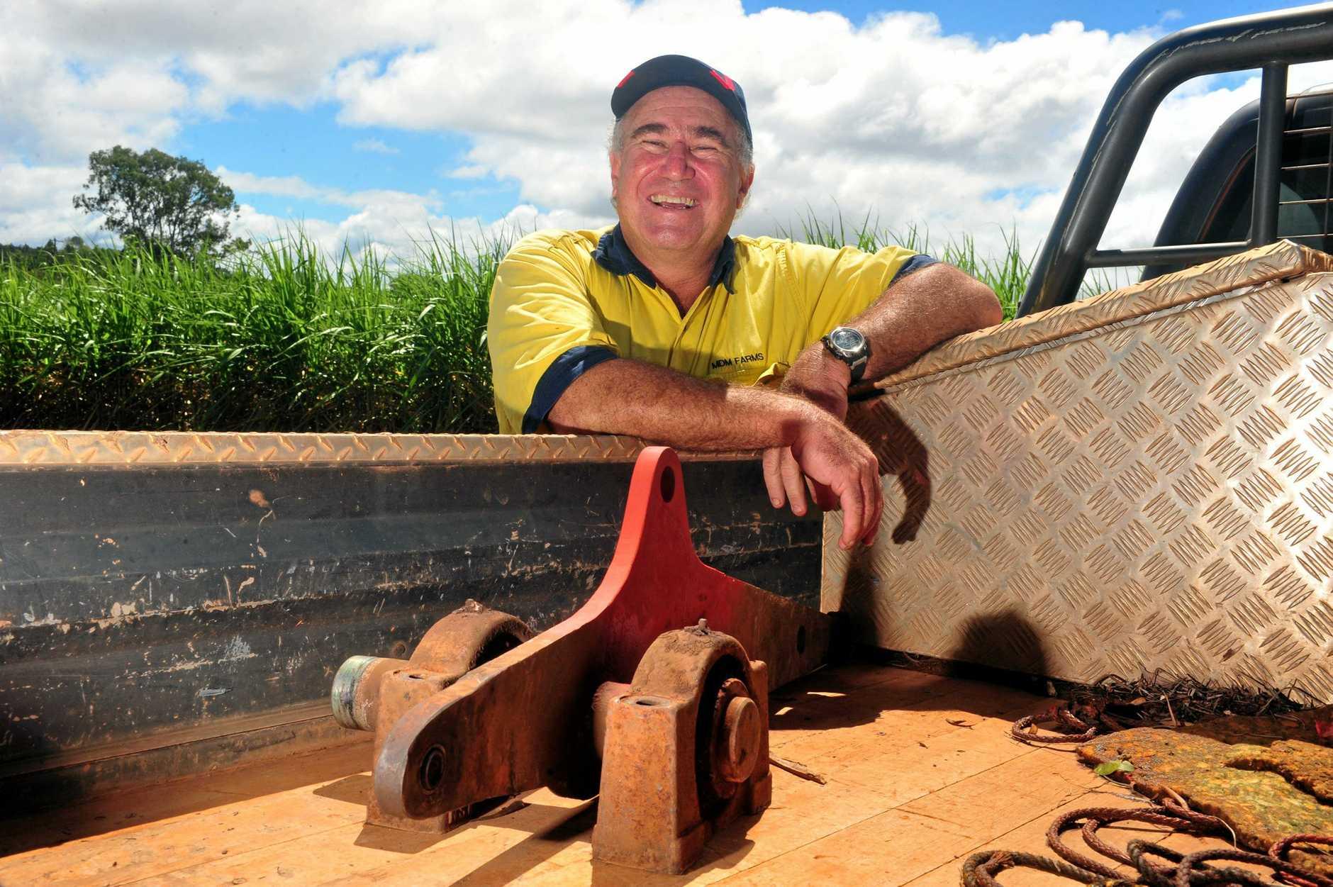 Cane farmer Mark Mammino.