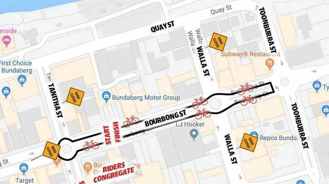 ON TRACK: The Bundaberg CBD will host the International Super Street Criterium, with a number of the world's best cyclists taking to the streets for Thursday's event. A number of road closures will be in effect during the event.