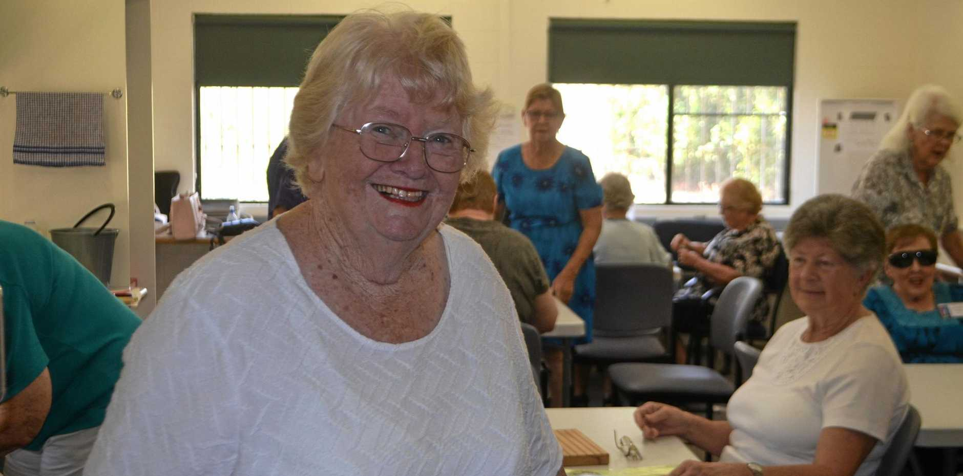 WOMAN PIONEER: Mavis Cooper is the woman behind Speld Warwick, a group that provides the region access to literacy help.