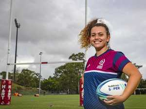 Determined to play for Queensland in Super W