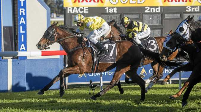 RACE DAY: Stephen Traecey will ride Water Boy at the Lismore Turf Club TAB meeting today.