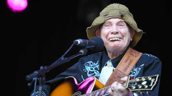 LIVING LEGEND: Chad Morgan at the 2017 Gympie Muster.