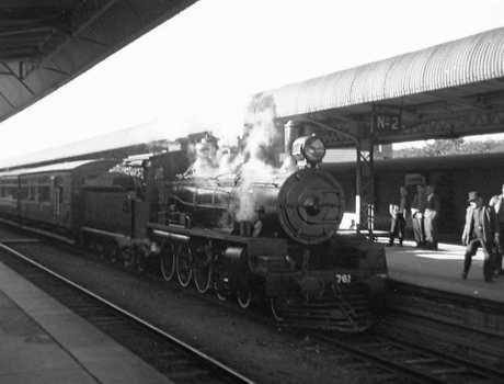 The Mitchell Memorial Park locomotive 200+ C17 Class was built in 1927.