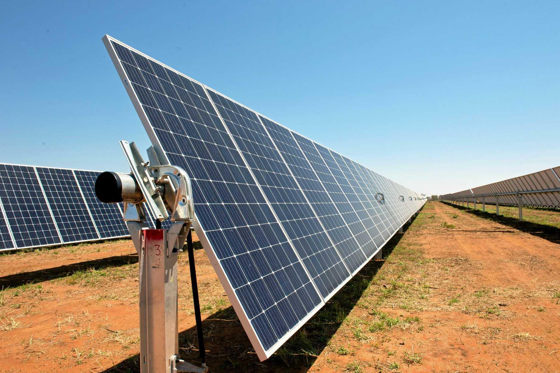 Adani Renewables Australia Rugby Run solar farm.