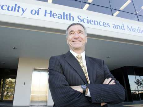 Professor Chris Del Mar at Bond University. Picture: Supplied.