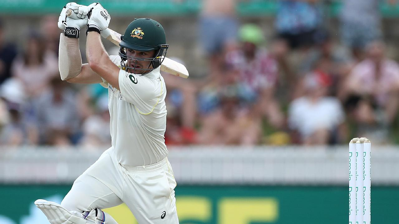 Travis Head in action for Australia during the second Test against Sri Lanka. Picture: Ryan Pierse/Getty Images