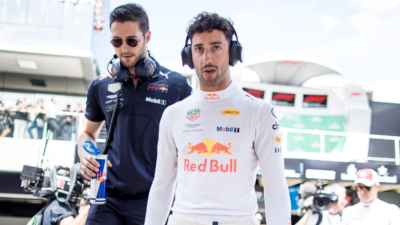 Daniel Ricciardo didn't see Mercedes' snub coming.