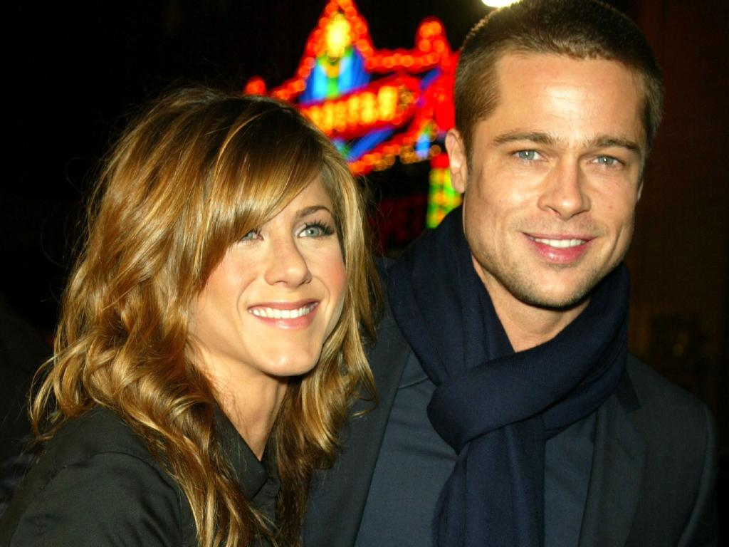 Jennifer Aniston and Brad Pitt split in 2003. Picture: Getty Images