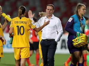 Broken Matildas coach makes scathing accusations