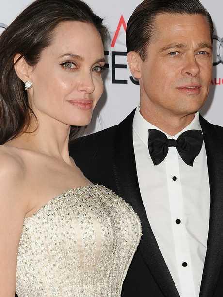 Brad Pitt and Angelina Jolie split in 2016. Picture: FilmMagic