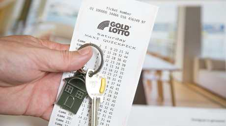 There were 10 division one winning entries nationwide in Saturday's Gold Lotto draw. Stock image