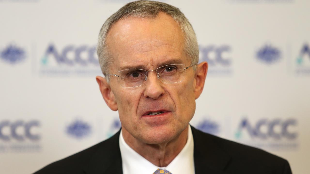 Google must do more to explain how it ranks news, according to ACCC chairman Rod Sims. Picture: Hollie Adams