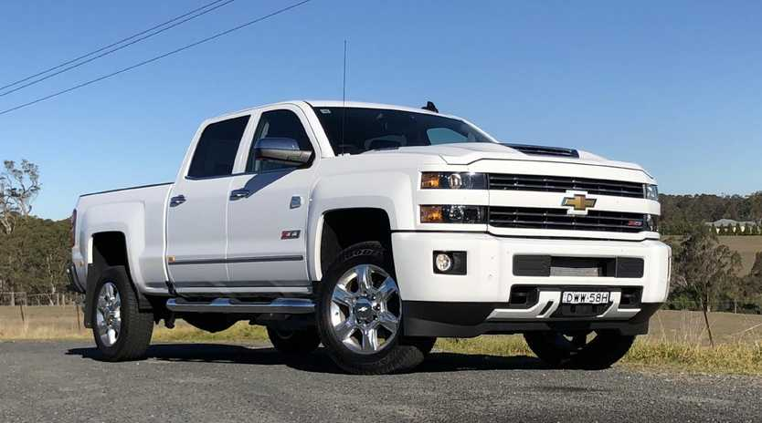 Chevrolet Silverado converted by HSV and sold via selected Holden dealers. Picture: Joshua Dowling.